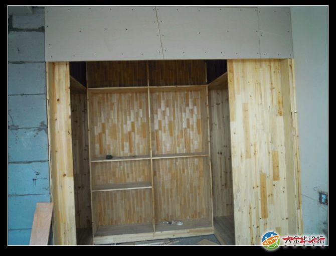 木工拼马柜子图
