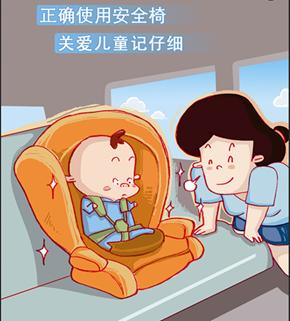 儿童安全带系法