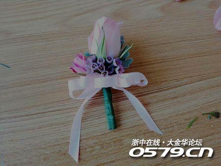 【新娘手工课】第一课·新人手腕花和胸花制作,零基础