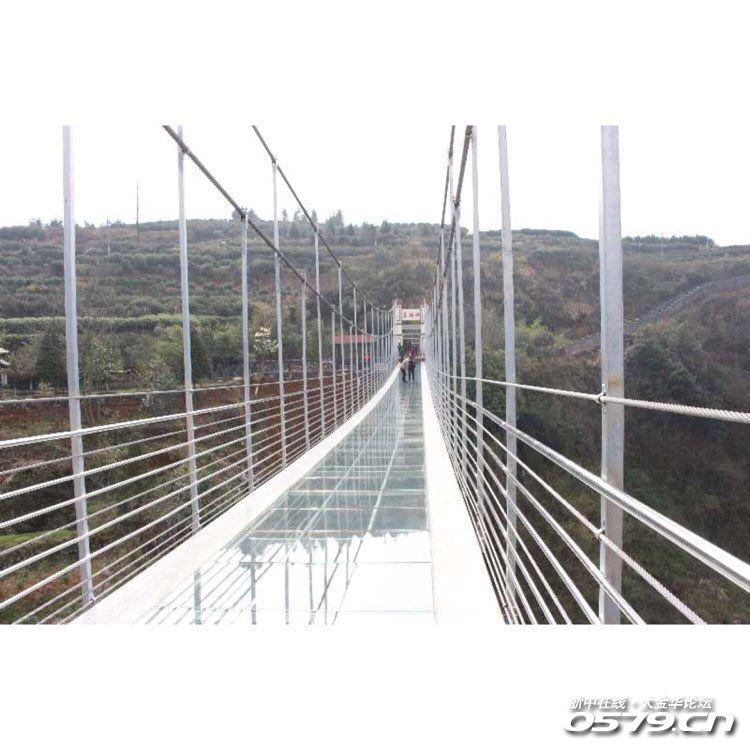 替你们去看了磐安玻璃桥