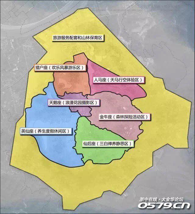 金义都市新区,全新梦幻银河谷,国际旅游项目