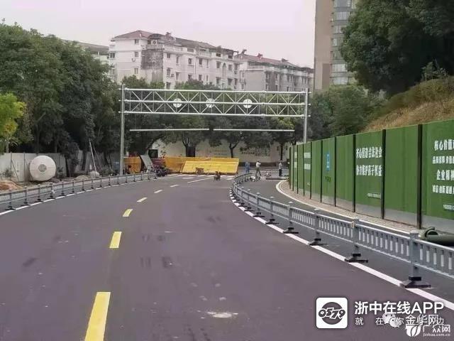 金婺大桥保通便桥不日可通车,老金婺大桥预计11月下旬爆 破拆除