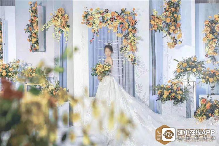 婚礼布置鉴赏:蜜路婚礼策划——蓝色系婚礼
