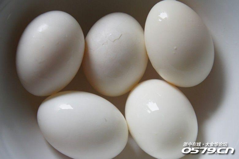 夏天的佳肴 三鲜蒸鸽蛋