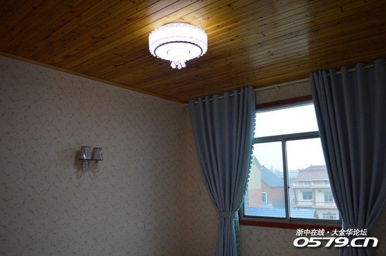 农村吊顶窗帘盒效果图