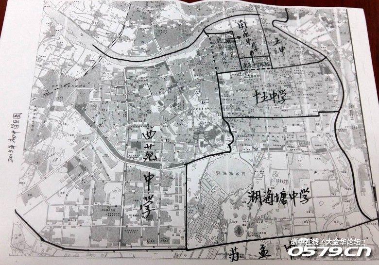 开发区中小学学区手绘版发布了,湖海塘学校发布了